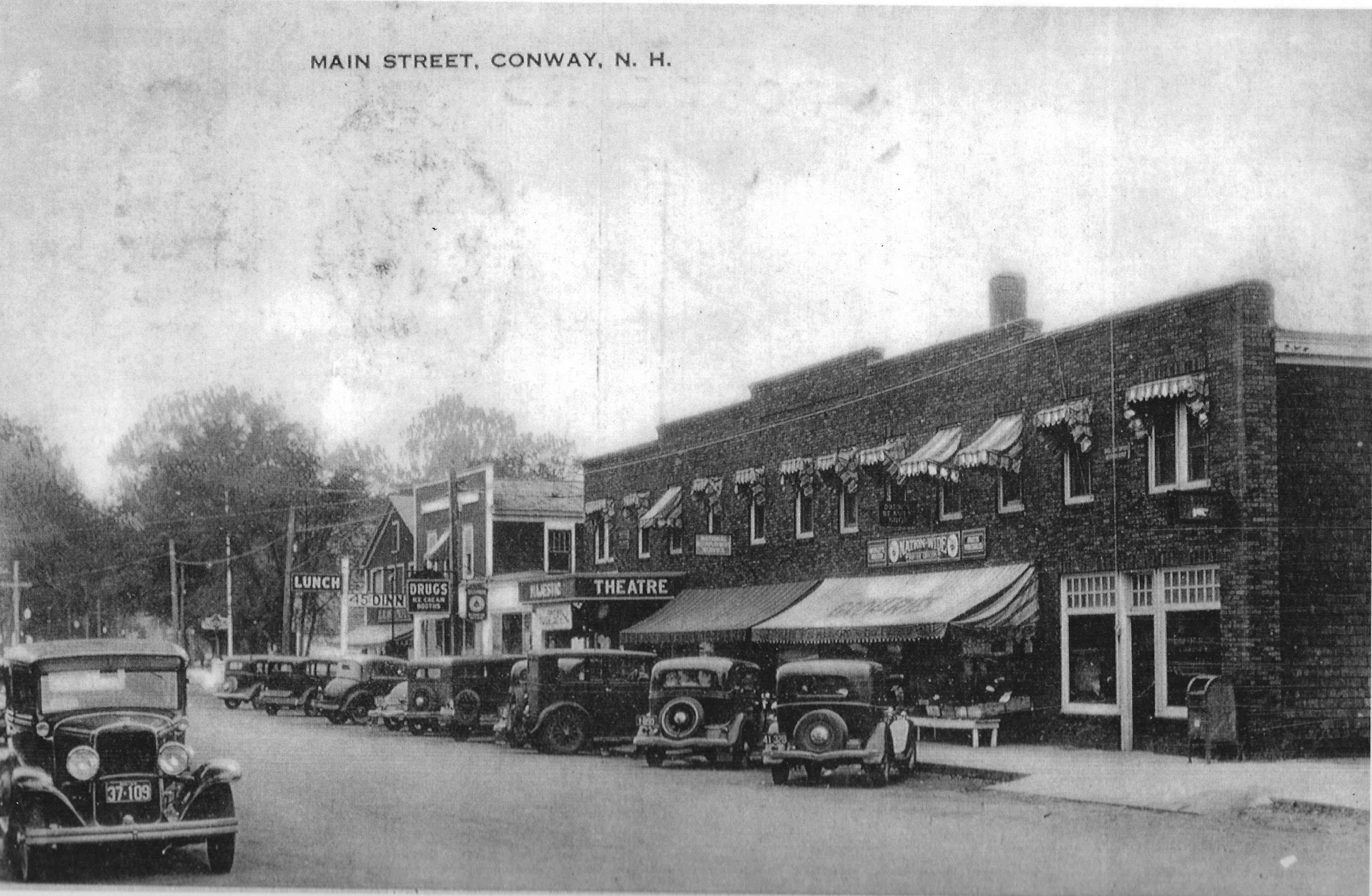 Downtown Conway - 1930's